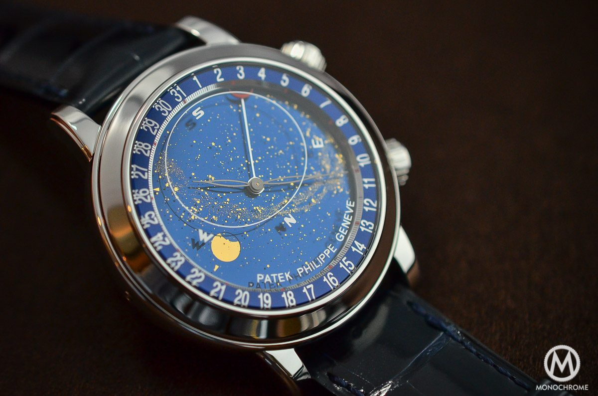 Patek Philippe 6102P Sky Moon Celestial Clarified Perfect Replica Watches with live photos, specs and Cost