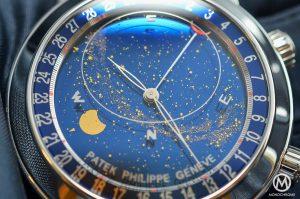 Blue Patek moon philippe