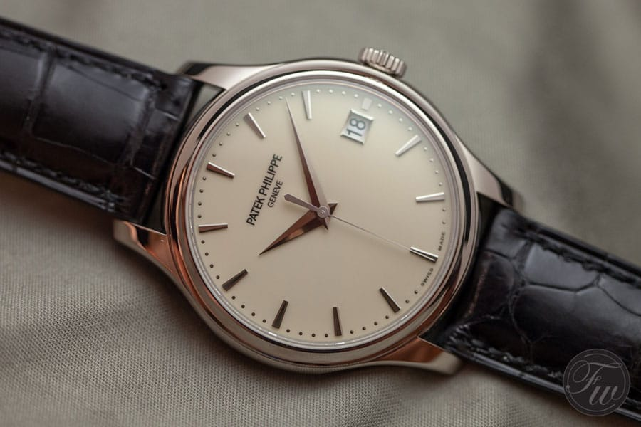 Hands Patek Philippe Calatrava 5227 Swiss Made Replica Watches-Is 39mm Still Complex Enough?