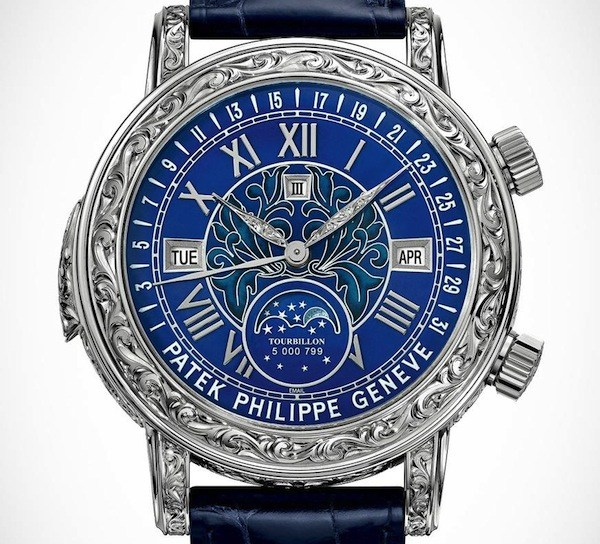Patek Philippe Sky Moon Tourbillon 6002G Luxury Clone Watch