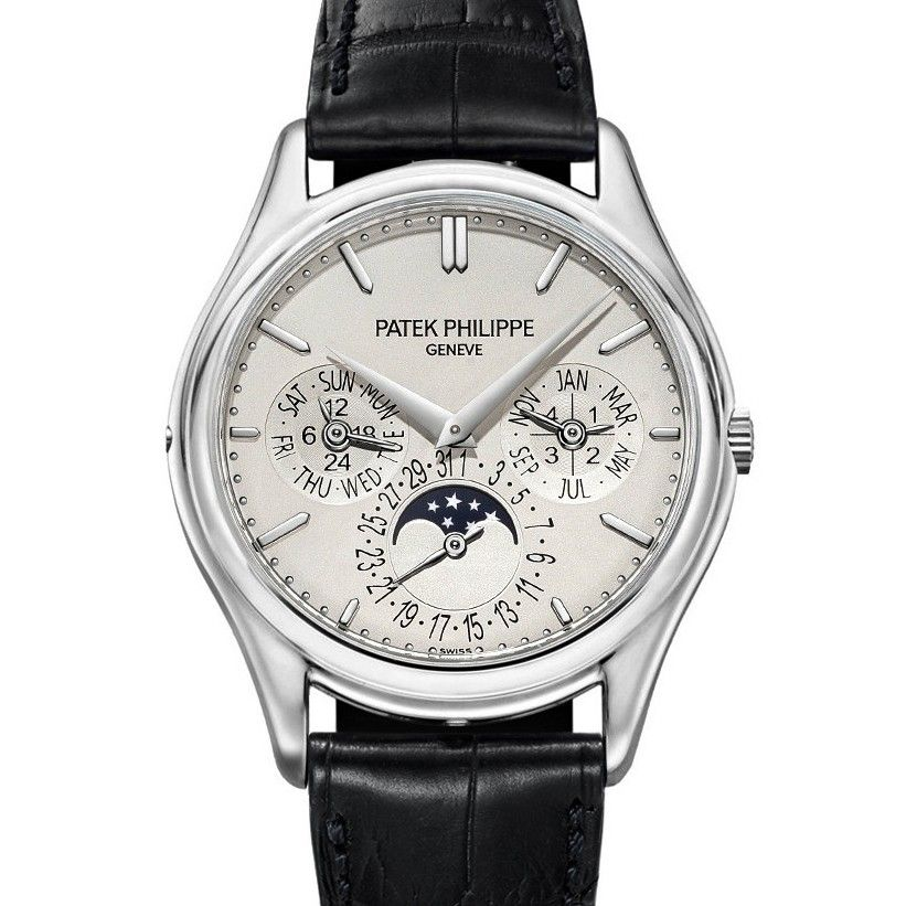 Perpetual Calendar Patek Philippe Ultra Thin Platinum 5140P Swiss Eta Movement Replica Watch Review